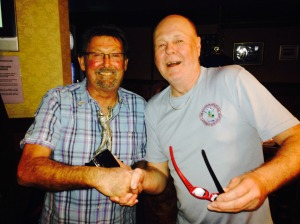 John Gamack - Most Improved Player (just had to finish the round if the truth be told)