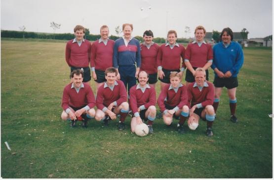 station soccer team 80s
